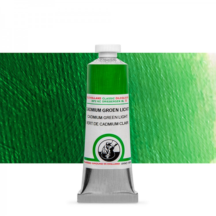 Old Holland : Classic Oil : 40ml Cadmium Green Light