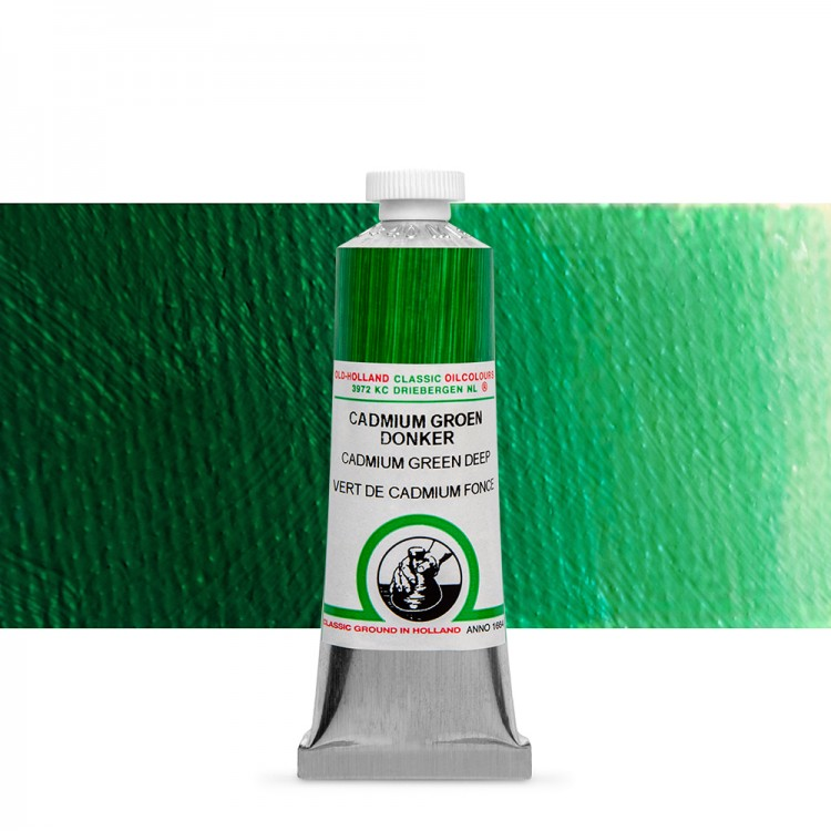 Old Holland : Classic Oil : 40ml Cadmium Green Deep