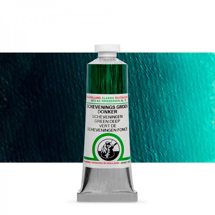 Old Holland : Classic Oil : 40ml Scheveningen Green Deep