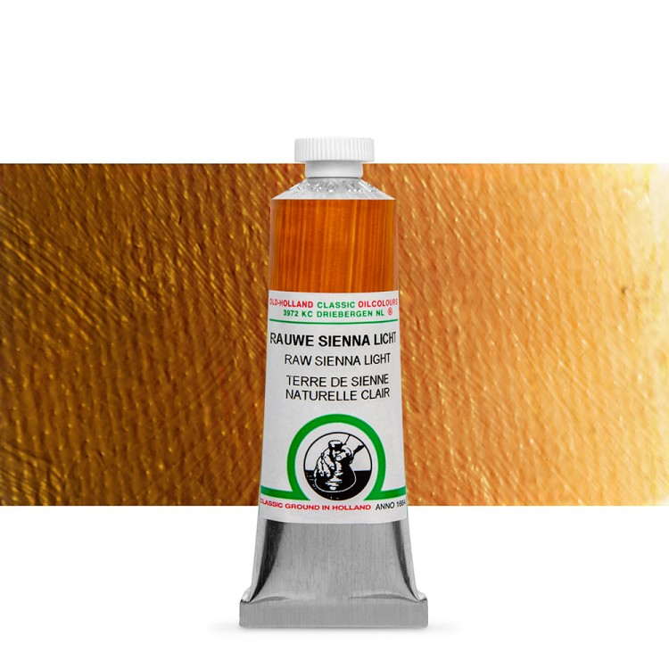 Old Holland : Classic Oil : 40ml Raw Sienna Light