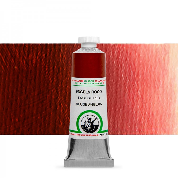 Old Holland : Classic Oil Paint : 40ml : English Red