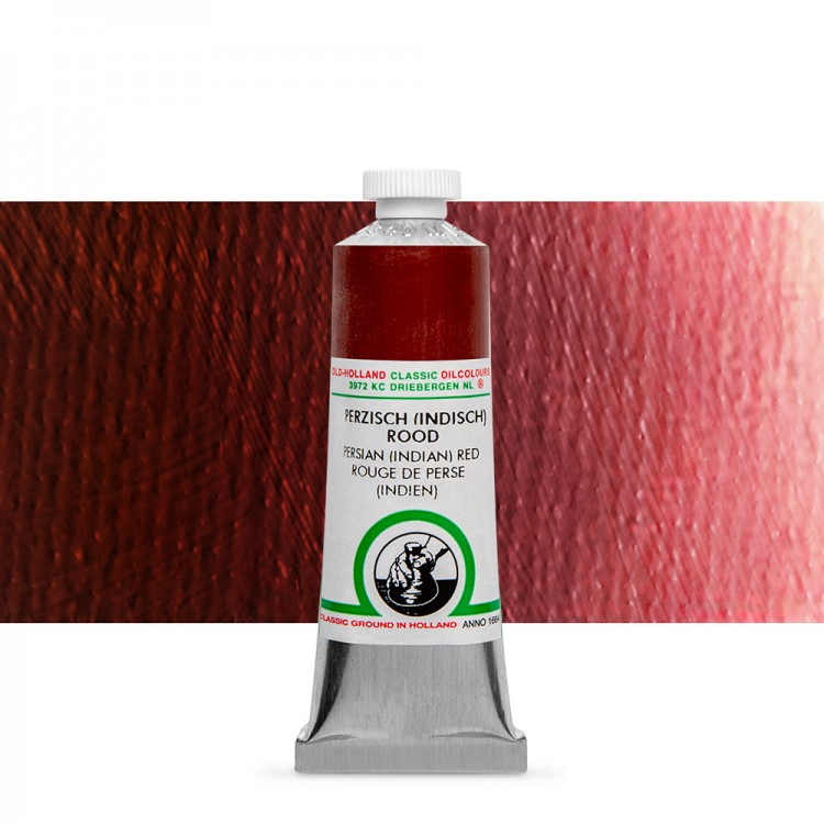 Old Holland : Classic Oil : 40ml Persian (Indian) Red