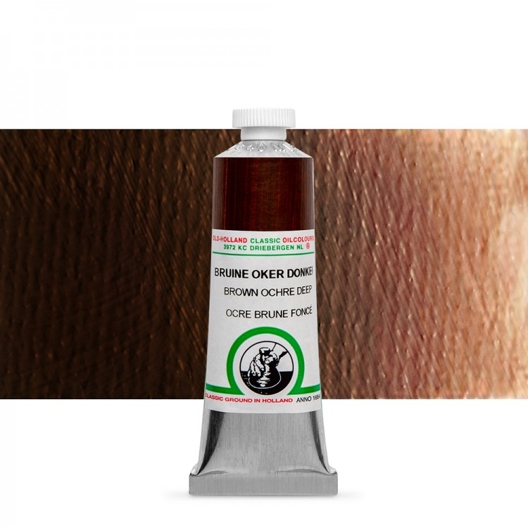 Old Holland : Classic Oil : 40ml Brown Ochre Deep