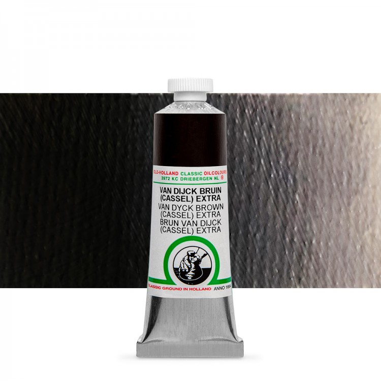 Old Holland : Classic Oil : 40ml Van Dyck Brown (Cassel)