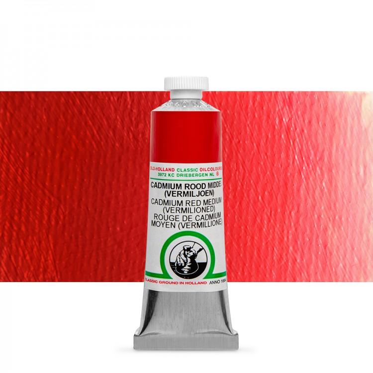 Old Holland : Classic Oil : 40ml Cadmium Red Medium (Verm)