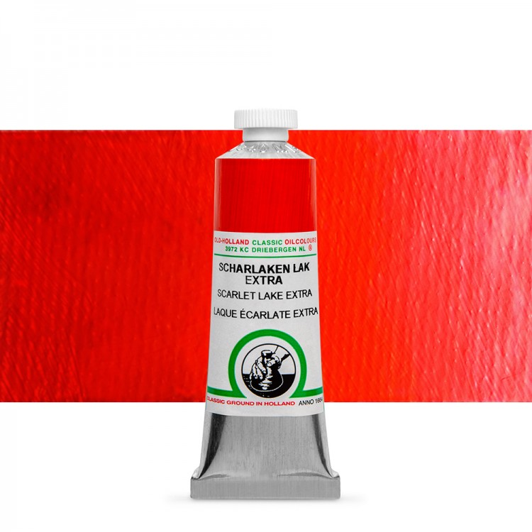 Old Holland : Classic Oil : 40ml Scarlet Lake Extra