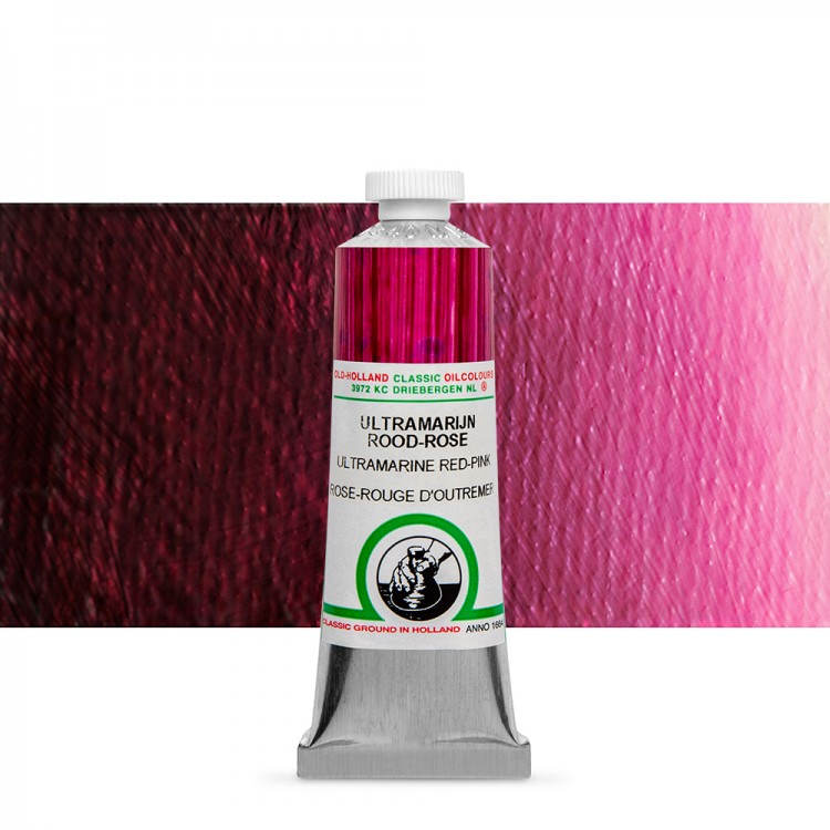 Old Holland : Classic Oil : 40ml Ultra Marine Red-Pink