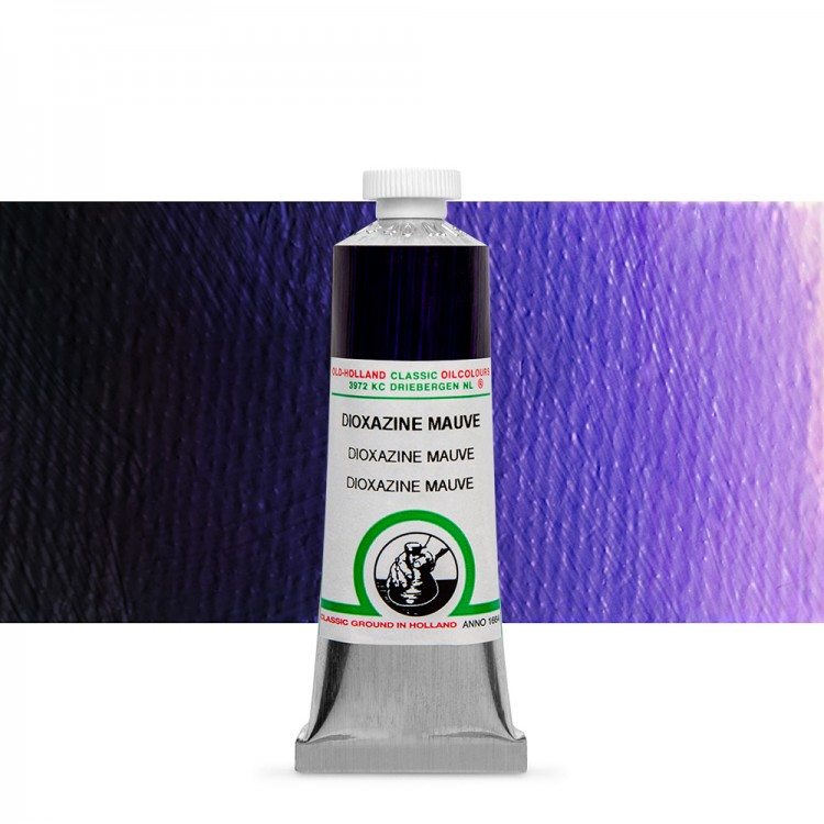 Old Holland : Classic Oil Paint : 40ml : Dioxazine Mauve