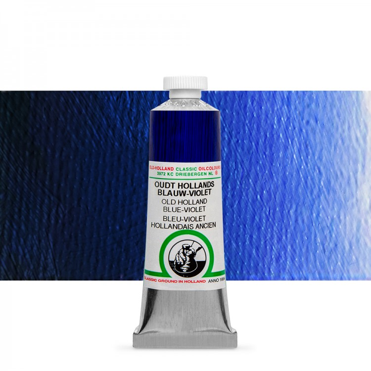 Old Holland : Classic Oil Paint : 40ml : Blue-Violet