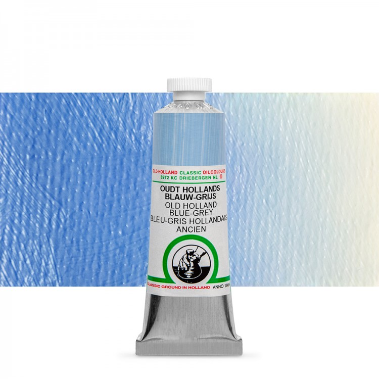 Old Holland : Classic Oil : 40ml Blue-Grey