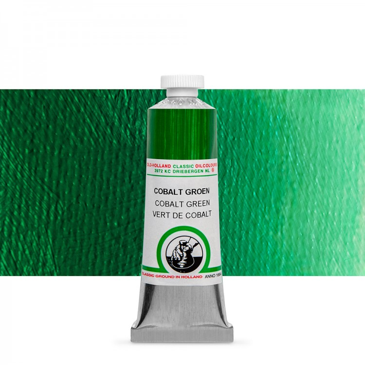 Old Holland : Classic Oil : 40ml Cobalt Green