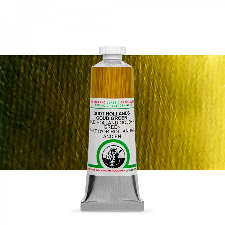 Old Holland : Classic Oil : 40ml Golden Green