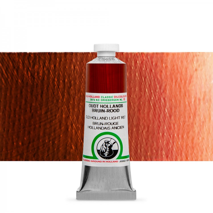 Old Holland : Classic Oil : 40ml Light Red