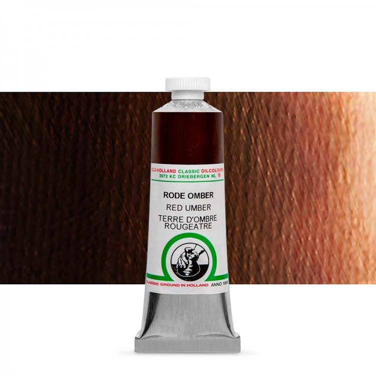 Old Holland : Classic Oil : 40ml Red Umber