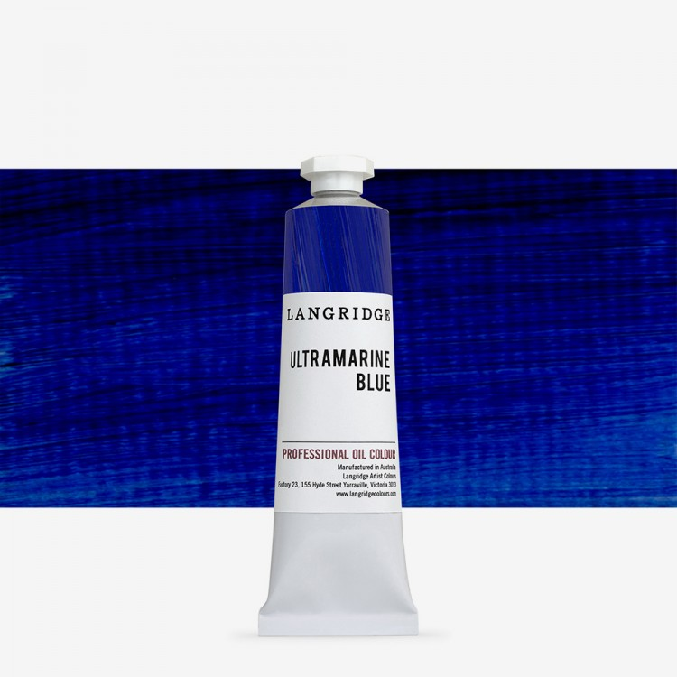 Langridge : Oil Paint : 40ml : Ultramarine Blue