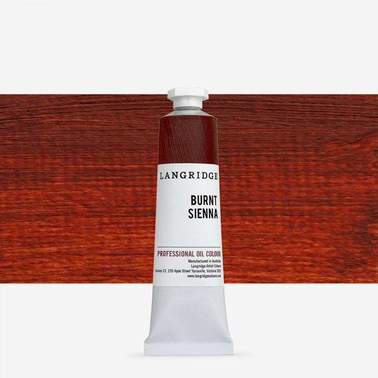 Langridge : Oil Paint : 40ml : Burnt Sienna