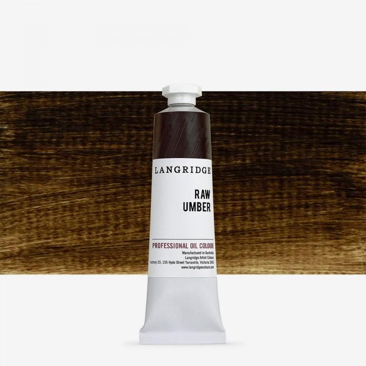 Langridge : Oil Paint : 40ml : Raw Umber