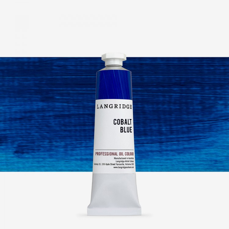 Langridge : Oil Paint : 40ml : Cobalt Blue