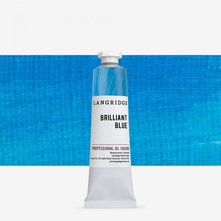 Langridge : Oil Paint : 40ml : Brilliant Blue