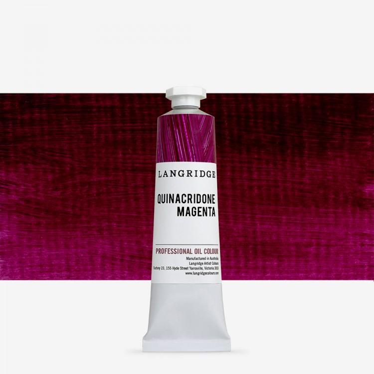Langridge : Oil Paint : 40ml : Quinacridone Magenta