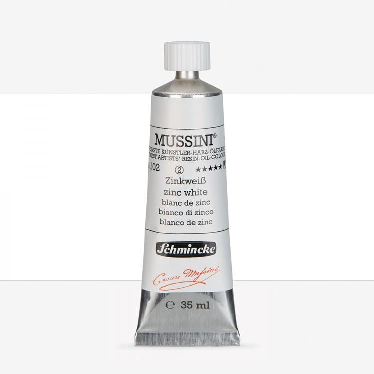 Schmincke : Mussini Oil Paint : 35ml : Zinc White