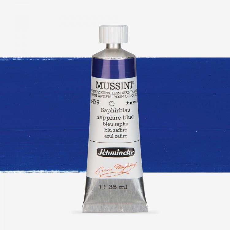 Schmincke : Mussini Oil Paint : 35ml : Cobalt Blue Hue