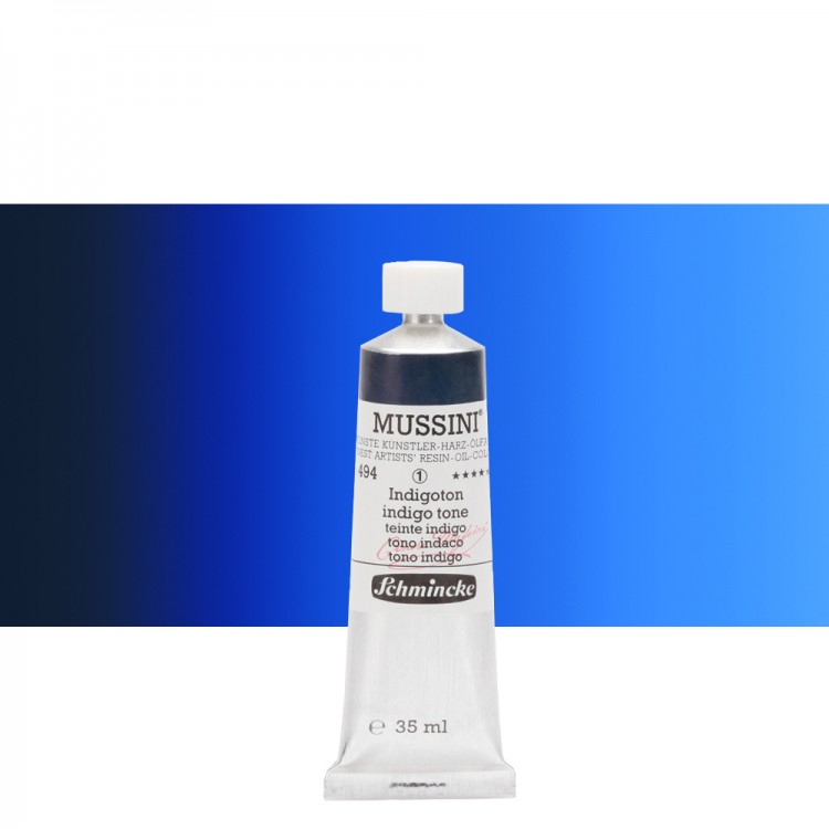 Schmincke : Mussini Oil Paint : 35ml : Indigo Hue