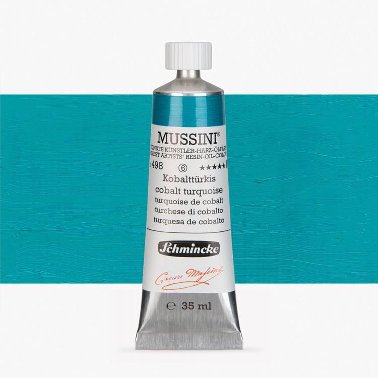 Schmincke : Mussini Oil Paint : 35ml : Cobalt Turquoise