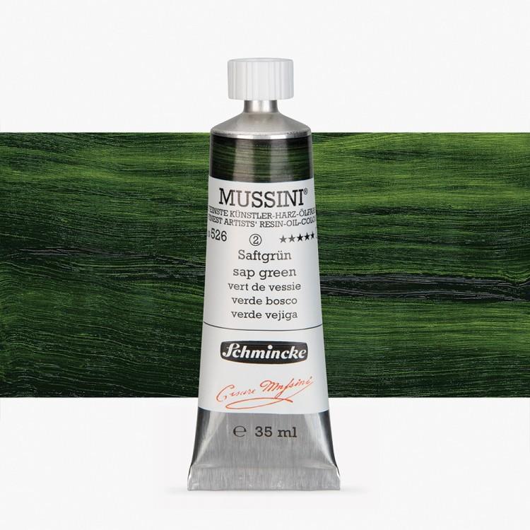 Schmincke : Mussini Oil Paint : 35ml : Sap Green