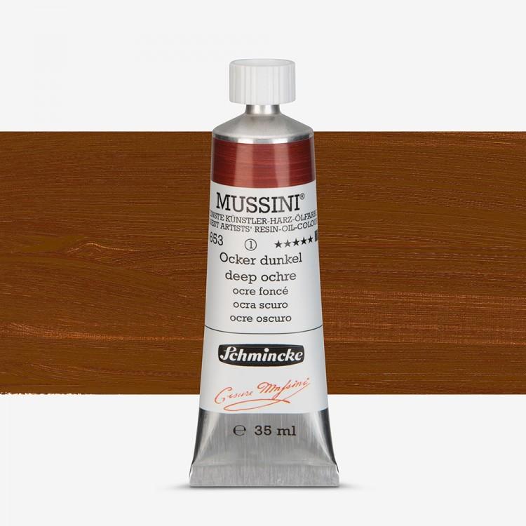 Schmincke : Mussini Oil Paint : 35ml : Deep Ochre