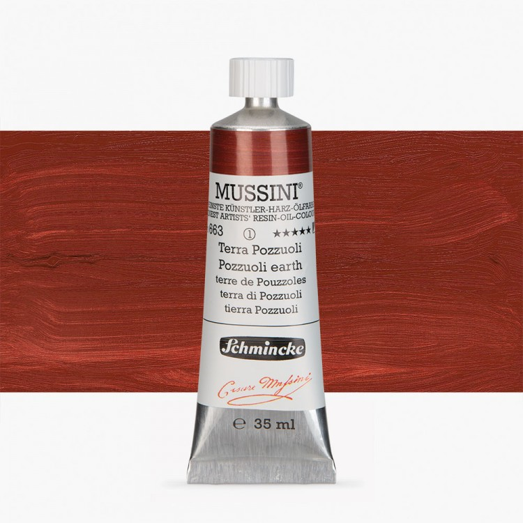 Schmincke : Mussini Oil Paint : 35ml : Pozzuoli Earth