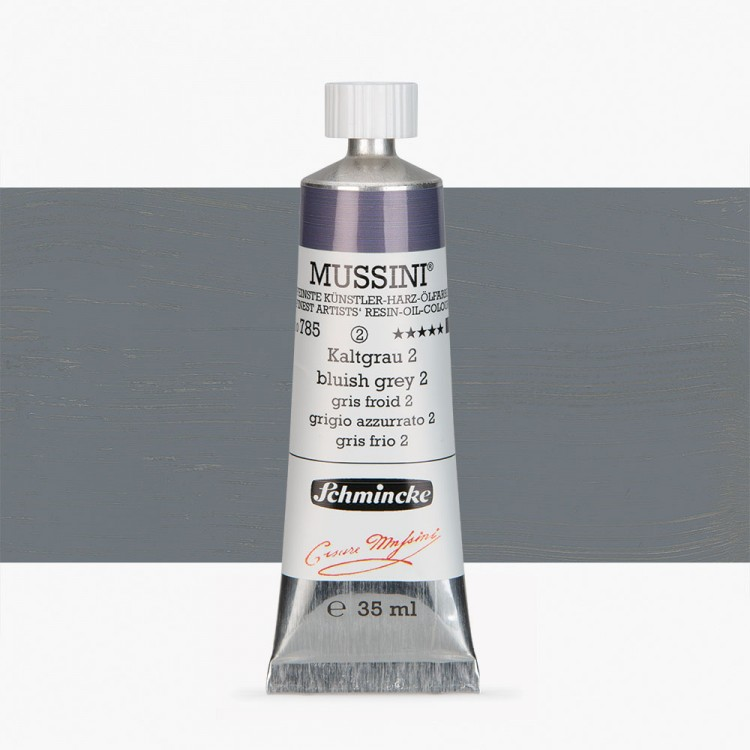 Schmincke : Mussini Oil Paint : 35ml : Bluish Grey No 2