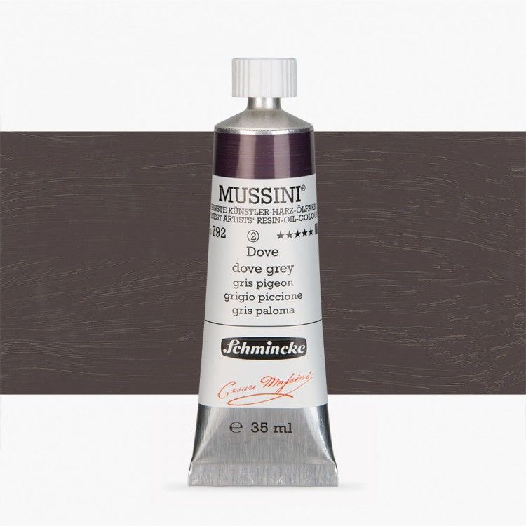 Schmincke : Mussini Oil Paint : 35ml : Dove Grey