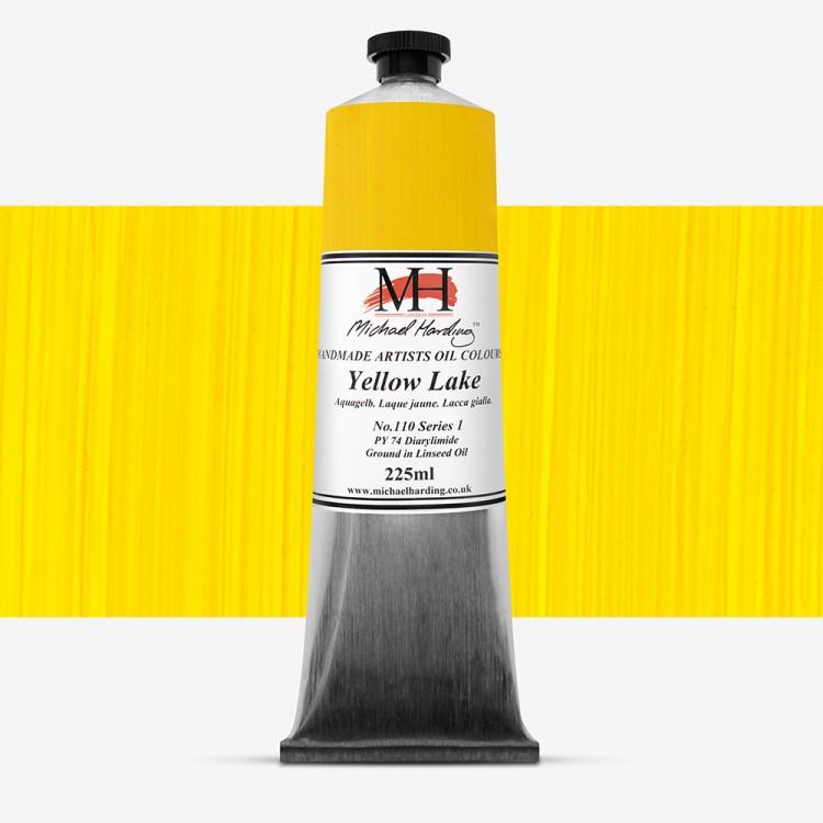 Michael Harding : Oil Colour : 225ml Yellow Lake