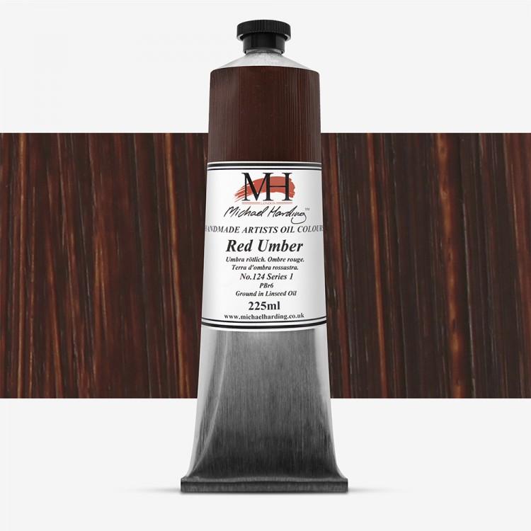 Michael Harding : Oil Paint : 225ml : Red Umber