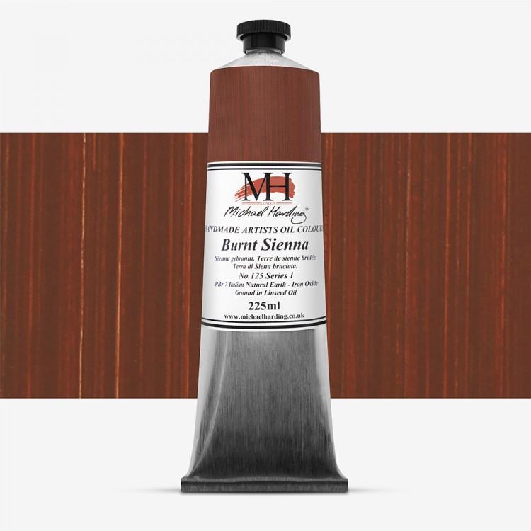 Michael Harding : Oil Colour : 225ml Burnt Sienna