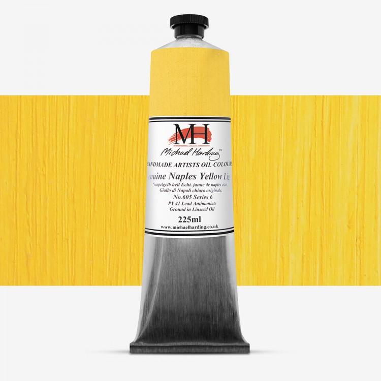 Michael Harding : Oil Paint : 225ml : Genuine Naples Yellow Light S6