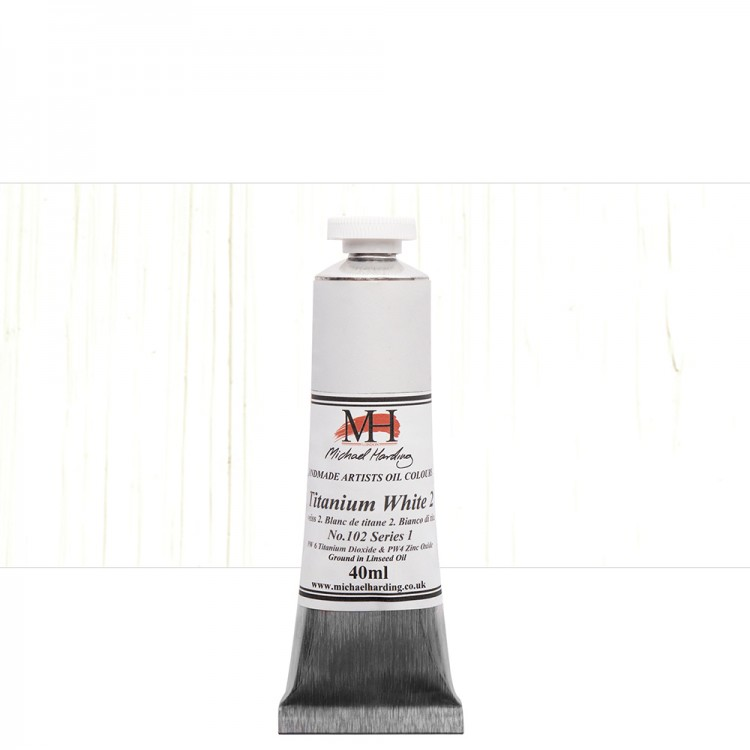 Michael Harding : Oil Colour : 40ml Titanium White 2