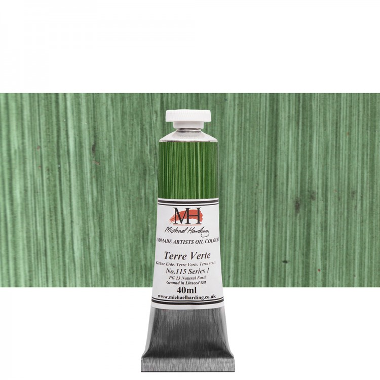 Michael Harding : Oil Colour : 40ml Terre Verte
