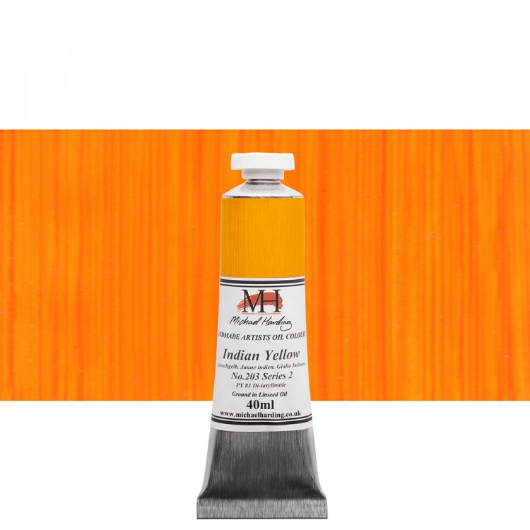 Michael Harding : Oil Colour : 40ml Indian Yellow