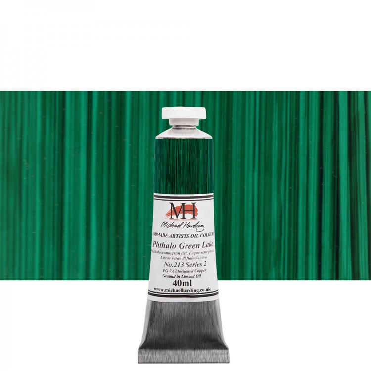 Michael Harding : Oil Paint : 40ml : Phthalo Green Lake