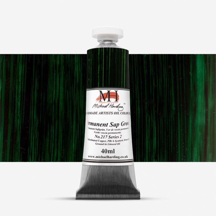 Michael Harding : Oil Colour : 40ml Permanent Sap Green