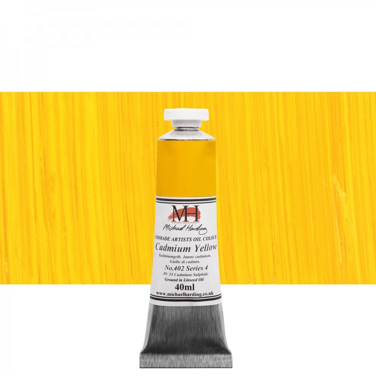Michael Harding : Oil Paint : 40ml : Cadmium Yellow