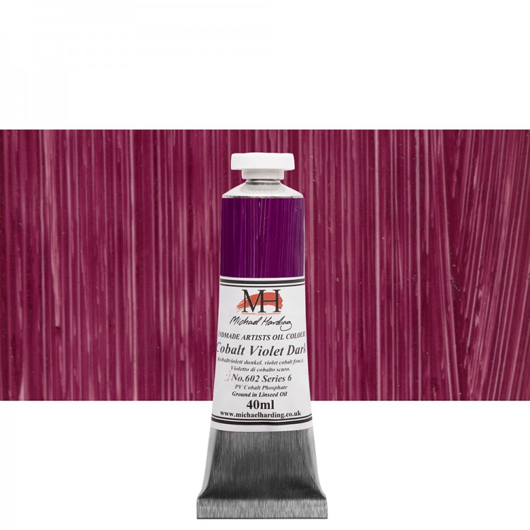 Michael Harding : Oil Paint : 40ml : Cobalt Violet Dark