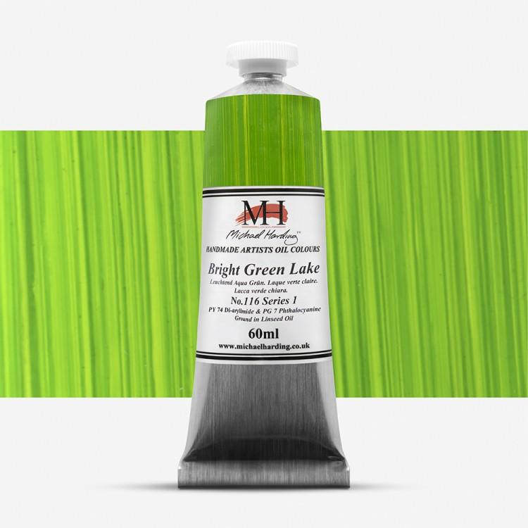 Michael Harding : Oil Paint : 60ml : Bright Green Lake