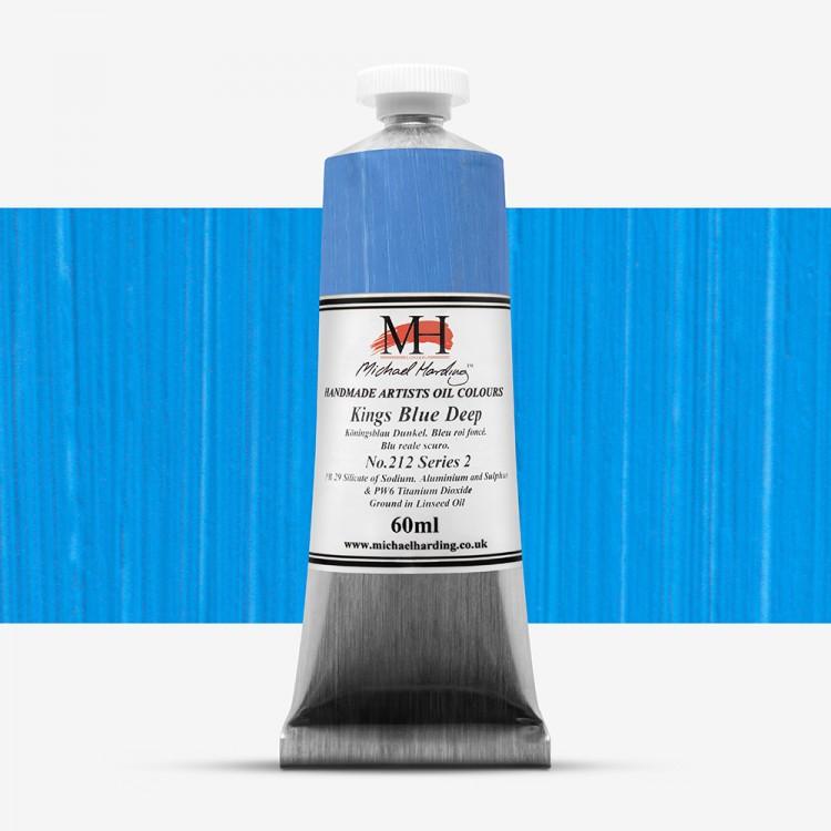 Michael Harding : Oil Paint : 60ml : Kings Blue Deep