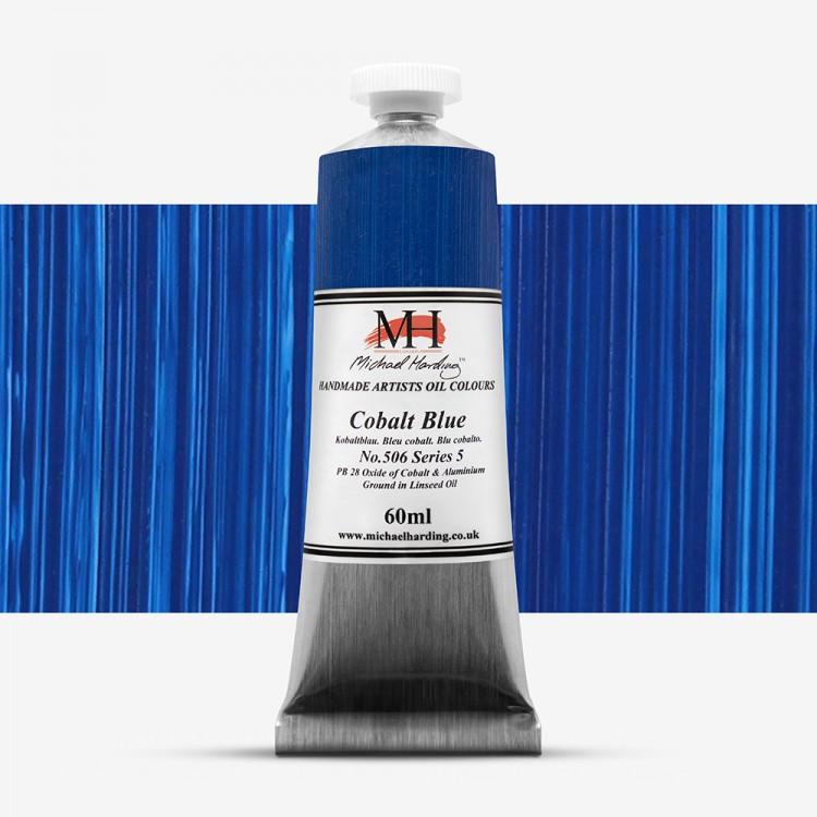Michael Harding : Oil Paint : 60ml : Cobalt Blue