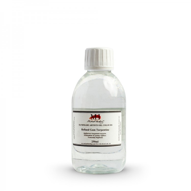 Michael Harding : Refined Gum Turpentine : 250ml : Ship By Road Only