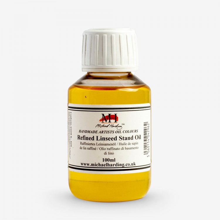 Michael Harding : Refined Linseed Stand Oil : 100ml