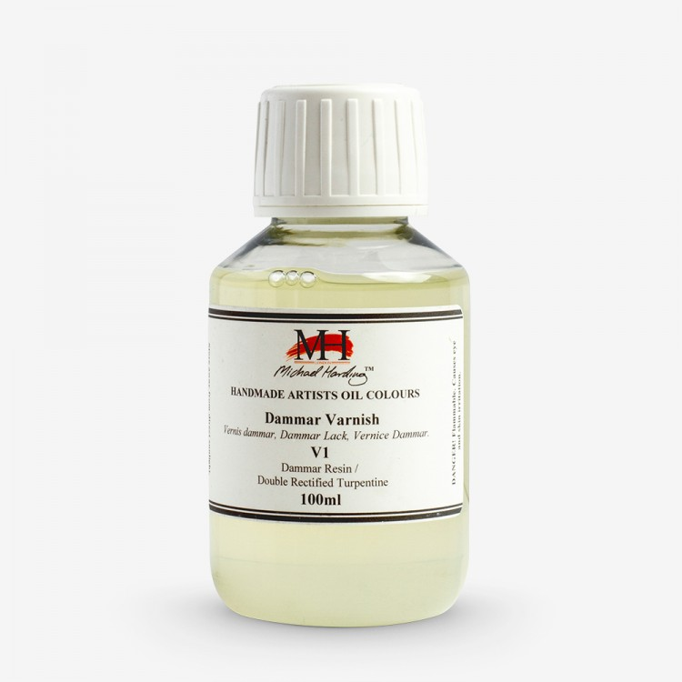 Michael Harding : Dammar Varnish : 100ml : By Road Parcel Only